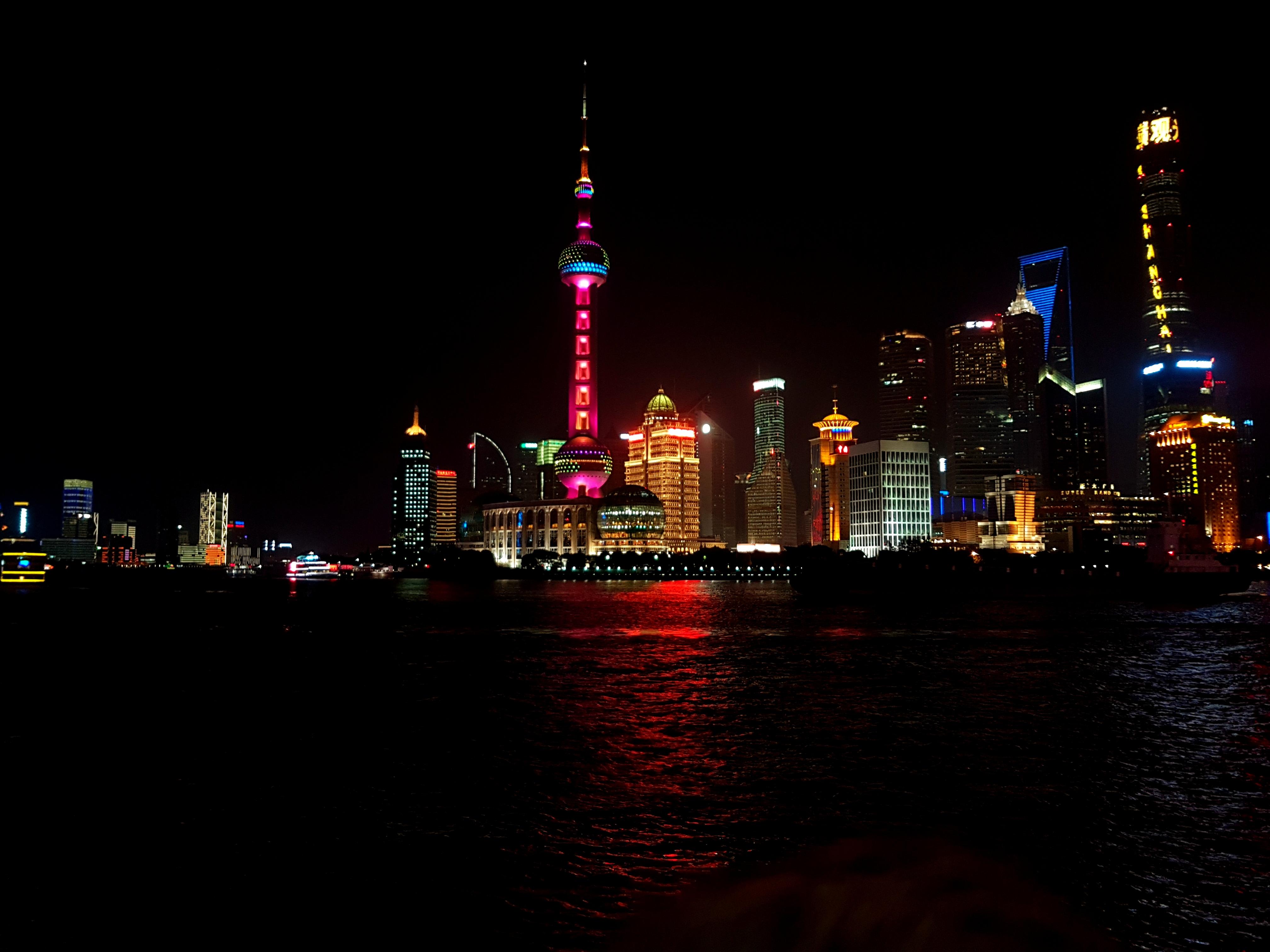 Ankunft Shanghai